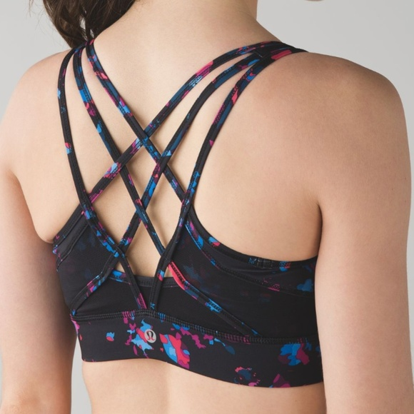 lululemon athletica Other - Lululemon Strap It Like It's Hot Bra Black 6